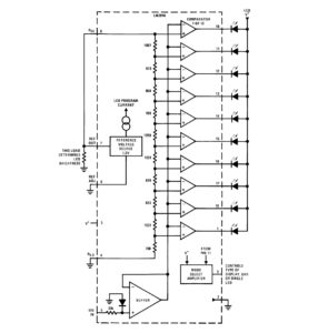 LM3916 Block Diagram